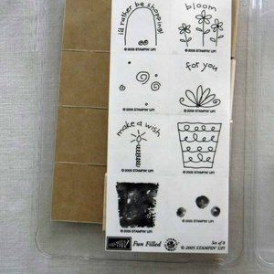 Stampin' Up! Fun Filled Stamp Set - New